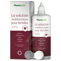 Pharmactiv Solution lentilles multifonctions Fl/100ml à Carbon-Blanc