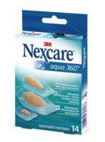 Nexcare Aqua 360° Pansements 3 tailles B/14 à Carbon-Blanc