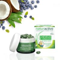 Naturactive Cheveux et ongles Caps 2*B/45 à Carbon-Blanc