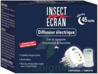 Insect Ecran Diffuseur électrique à Carbon-Blanc