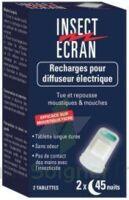 Insect Ecran Tablette recharge diffuseur B/2 à Carbon-Blanc