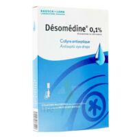 DESOMEDINE 0,1 % Collyre sol 10Fl/0,6ml à Carbon-Blanc
